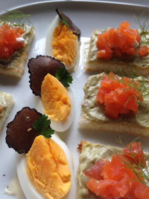 Truffle slices.  Mmmmm.