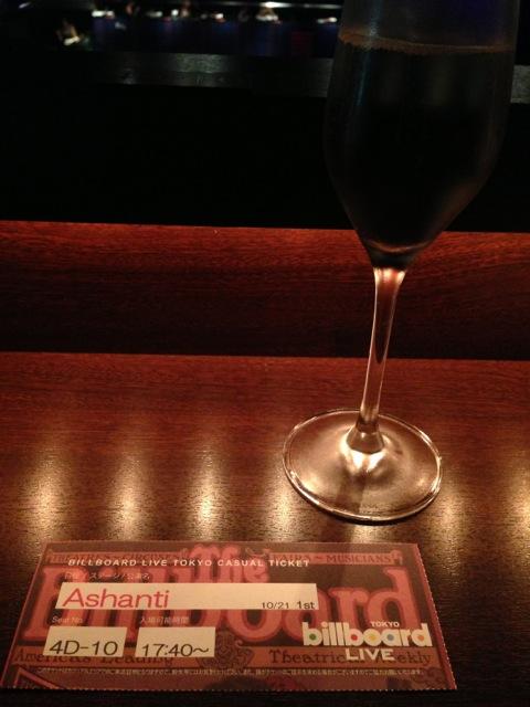 Ashanti @ Billboard Live Tokyo.