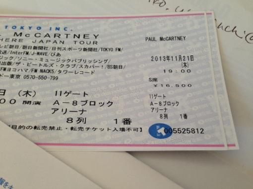 Paul McCartney @ Tokyo Dome