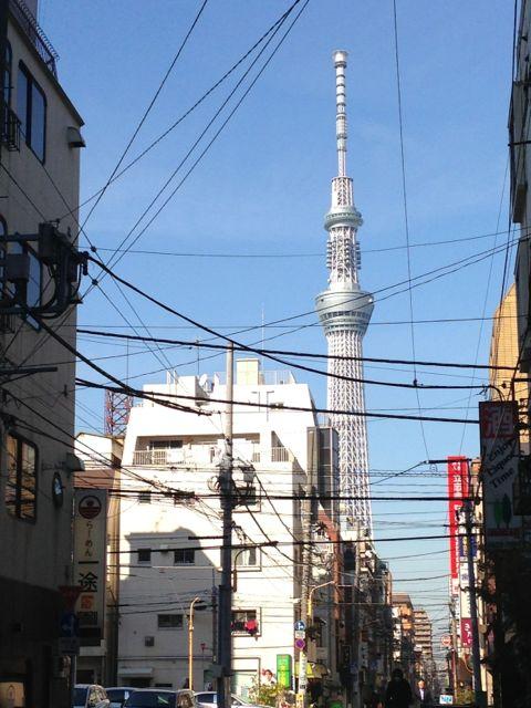 Tokyo Sky Tree nearby