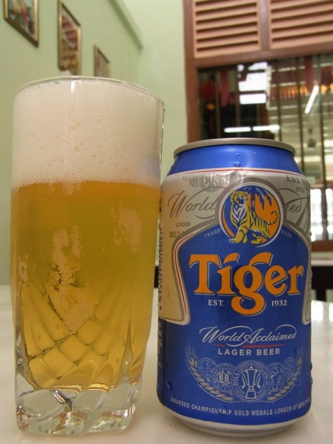 Great that they had beer which is not always the case in Malaysia but I guess in Nyonya and Chinese restaurants they would.