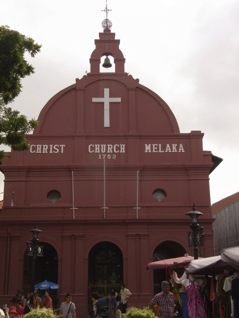 Christ Church built by the Dutch.
