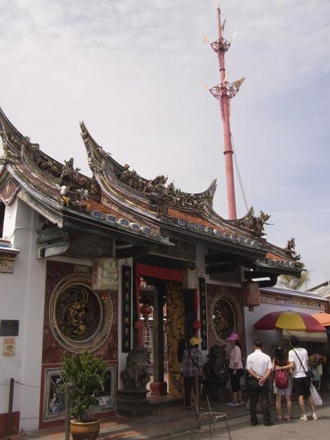 The Cheng Hoon Teng Temple.