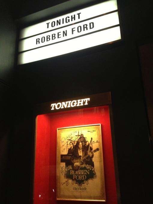 Robben Ford @ Blue Note Tokyo