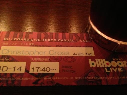 Christopher Cross @ Billboard Live Tokyo