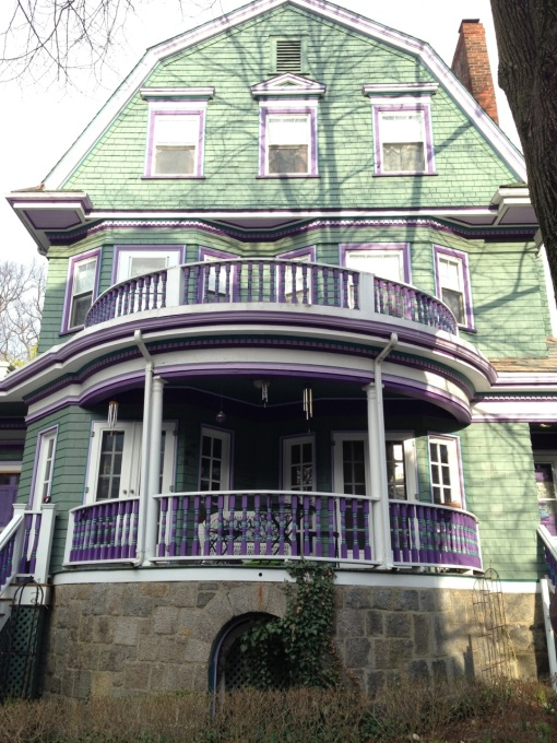 The Coolidge Corner Guest House next door at 17-19 Littell Road.
