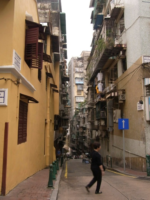 Random hilly street.