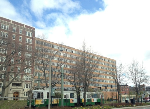 "The ""C"" Green Line on Beacon Street was our line then and now."