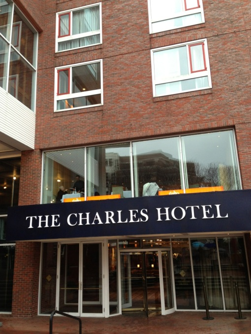 Rialto is on the 2nd floor of this hotel in Harvard Square.