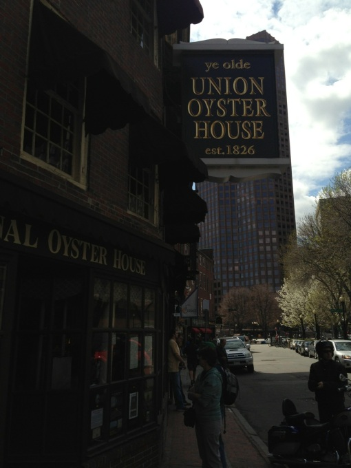 Where clam chowder is said to have originated.  It's the oldest running restaurant in the U.S.