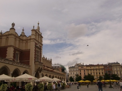 """The entrance to the museum is at the far end of the """"Cloth Hall"""" on left."""