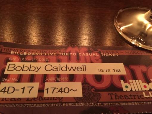 Bobby Caldwell @ Billboard Live Tokyo