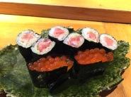 An extra order of toro roll & ikura