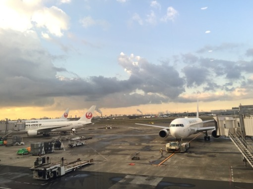 Leaving on a jet plane for a short trip to Osaka, a 45-minute flight from Tokyo