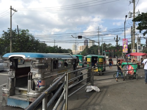 """Jeepneys"" near Central."