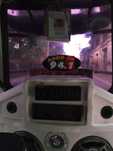 My ride to the bus terminal.  Cost me only 20 PHP.  On the way in, the driver charged me 50 PHP.