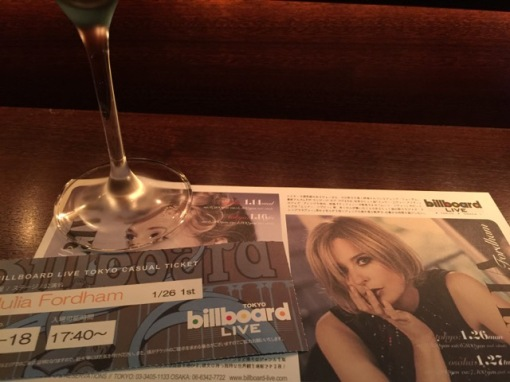 Julia Fordham @ Billboard Live Tokyo