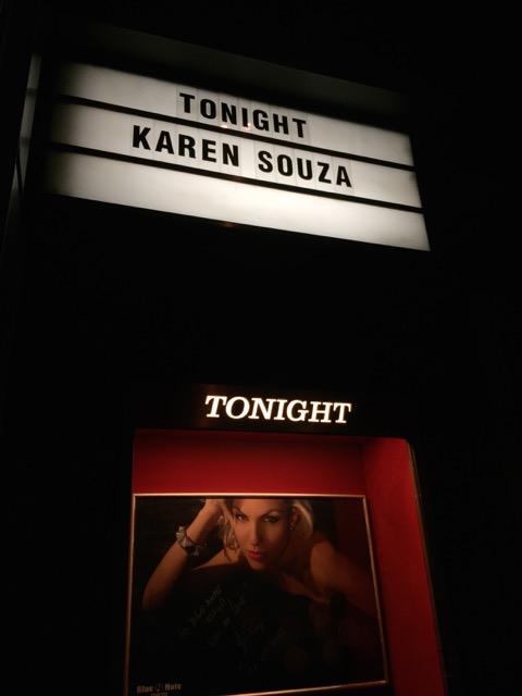 Karen Souza @ Blue Note Tokyo