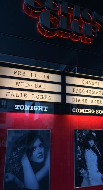 Halie Loren at Cotton Club