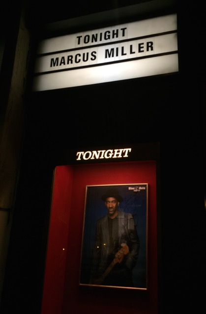 Marcus Miller at Blue Note Tokyo
