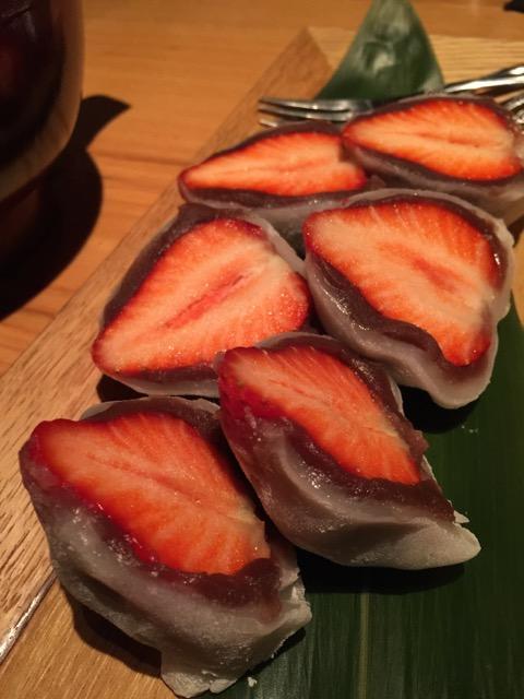 """""""Ichigo (strawberry) daifuku"""""""