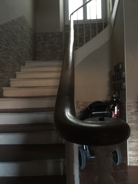 The Bourgeois staircase