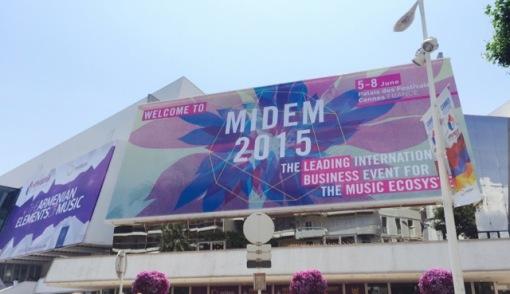 MIDEM @ Palais des Festivals, Cannes, France.