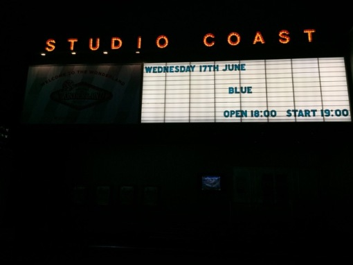Blue @ Studio Coast