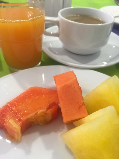 Starting with tropical fruits