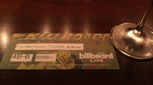 The Manhattan Transfer at Billboard Live Tokyo