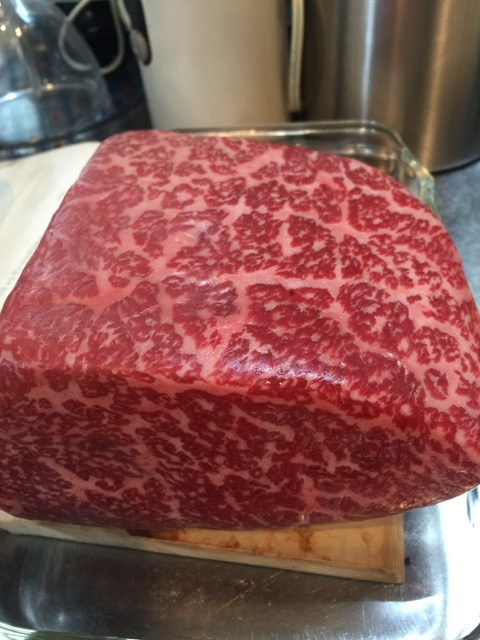 """We like our meat somewhat fatty as exemplified by the so-called """"Kobe beef""""."""
