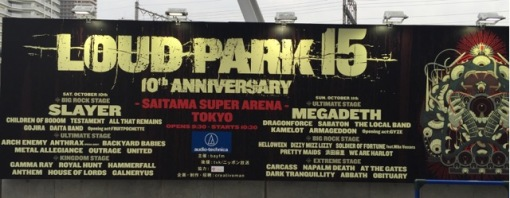 Loud Park 15, a metal festival, over a two-day period