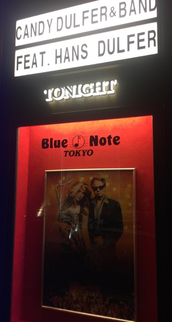 Candy Dulfer with Hans Dulfter @ Blue Note Tokyo
