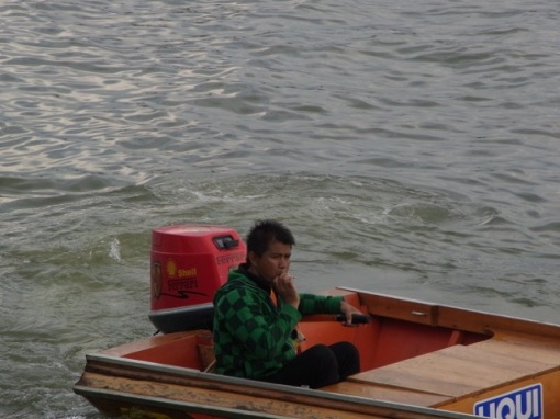 The water taxi man