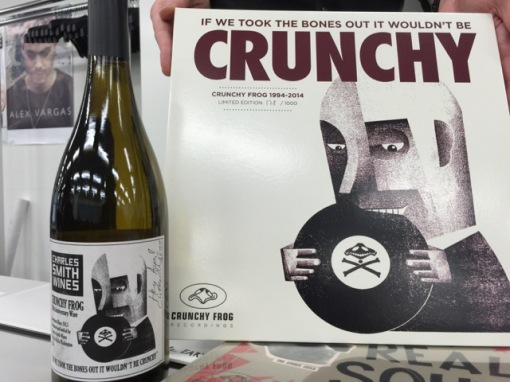 Friends at a Danish record label celebrating its 20th anniversary had brought the celebratory wine to Tokyo