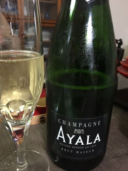 New year eve dinner Champagne. Always love Ayala