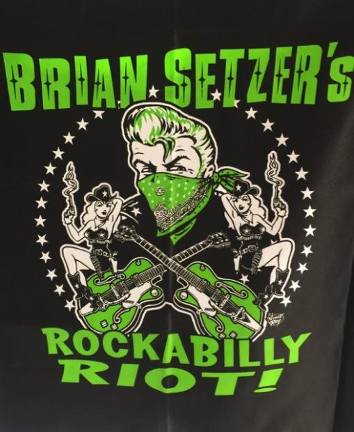 Brian Setzer's Rockabilly Riot! at Tokyo Dome Hall
