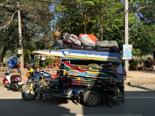 Some are loaded with people and their luggage you'd wonder if they're able to travel any distance