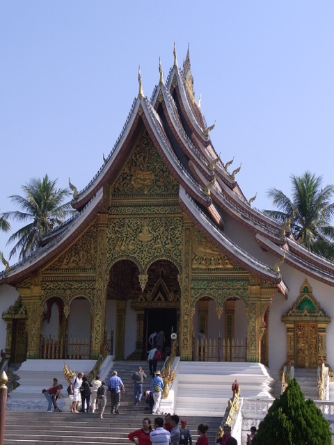 The temple inside the palace ground