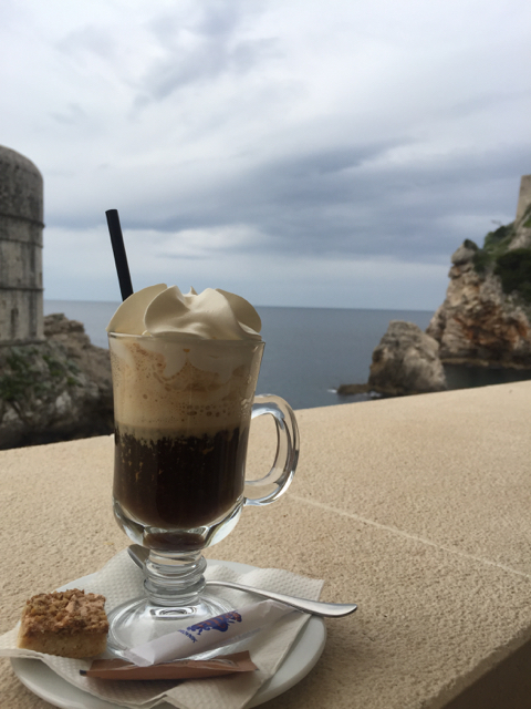 My morning Italian (Amaretto) coffee