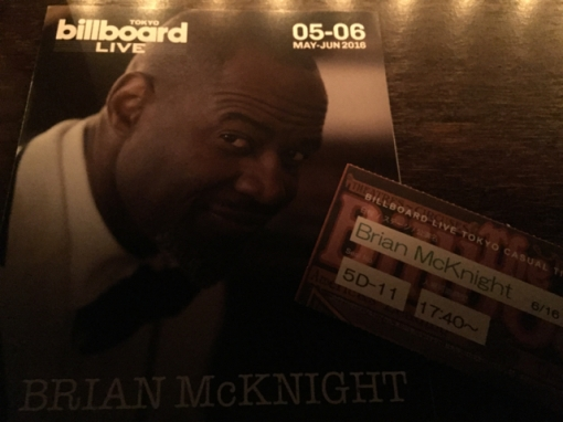 Brian McKnight @ Billboard Live Tokyo