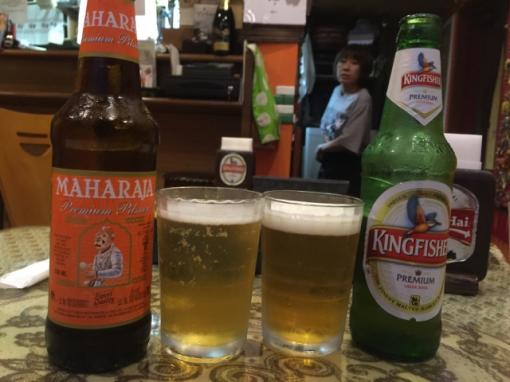 No Pakistani beer?! But OK, we made do.
