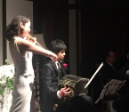 Tamaki Kawakubo and Kzuma Miura @ their wedding