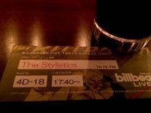 The Stylistics @ Billboard Live Tokyo
